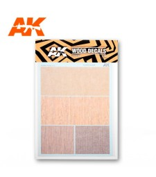 AK9084 WOOD DECAL 1:72 (A5)