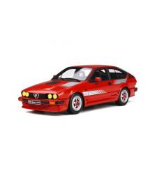 ALFA ROMEO GTV6 PRODUCTION 1984 RED
