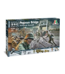 1:72 Battleset: WWII PEGASUS BRIDGE - 100 figures