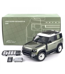 LAND ROVER DEFENDER 90 WITH ROOF PACK - 2020 - PANGEA GREEN