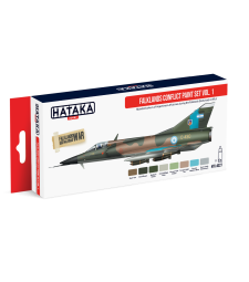 HTK-AS27 Falklands Conflict paint set vol. 1 (8 x 17 ml) - RED LINE - AIRBRUSH DEDICATED