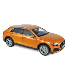 Audi Q8 2018 - Orange metallic