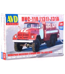 1:72 PNS-110 (ZIL-131 Fire Engine)