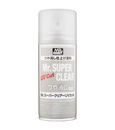 B-523 Mr. Super Clear UV Cut Flat Spray (170 ml)