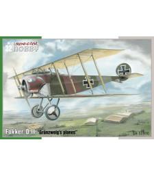 "1:32 Fokker D.II ""Grünzweig`s Planes"""