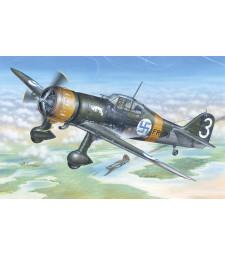 """1:48 Fokker D.XXI 3. sarja """"with Mercury engine"""""""
