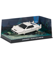 1980 Lotus Esprit Submarine James Bond - The Spy Who Loved Me - White