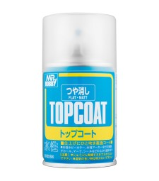 B-503 Mr. Top Coat Flat Spray (86 ml)