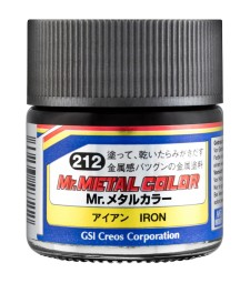 MC-212 Mr. Metal Color - Iron (10ml)
