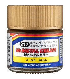 MC-217 Mr. Metal Color - Gold (10ml)