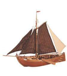 1:35 Botter - Wooden Model Ship Kit