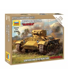 1:100 British Infantry Tank Valentine Mk.II