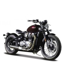 Triumph Bonneville Bobber, Dark Red/Black