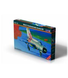 1:72 MiG-21S'Czechoslovakia Inv'68'