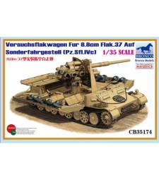 1:35 Versuchsflakwagen 8.8cm Flak 37 auf Sonderfahrgestell(Pz