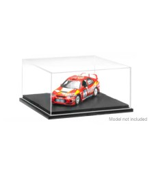 Plastic Transparent Case 1:144/1:43/1:72 (117x117x52 mm)