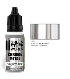 Chrome Metal Paint 17ml