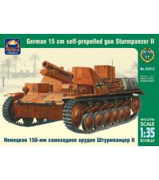 1:35 Sturmpanzer II German 15 cm self-propelled gun