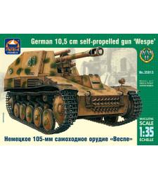 """1:35 """"Wespe"""" German 10.5 cm self-propelled gun"""