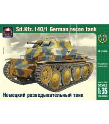 1:35 Sonderkraftfahrzeug 140/1 German reconnaissance tank