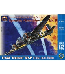 "1:72 Bristol ""Blenheim"" Mk.IF British Night Fighter"