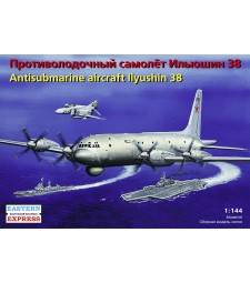 1:144 Ilyushin IL-38 Russian anti-submarine aircraft, the Russian Navy
