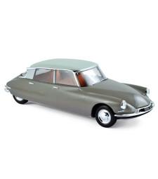 Citroen DS 19 1959 - Marron Glace & Blanc Carrare