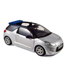 Citroën DS3 Cabrio 2013 - Aluminium & Infini Blue - Ed Limited 1000ex