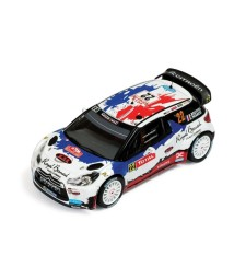 CITROEN DS3 WRC #22 B.BOUFFIER-X.PANSERI RALLY MONTE CARLO 2013