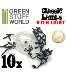 Plastic Classic WALL Lamps PACKx10