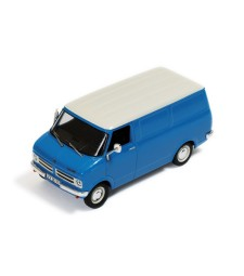 OPEL BEDFORD BLITZ 1975 (light blue) - Cream wheels and cream grill