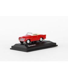 Skoda Felicia Roadster (1963) - Red Dark