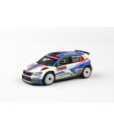 Skoda Fabia III R5 (2015) - Rallye Monte-Carlo 2018 # 32 Kopecky - Dresler
