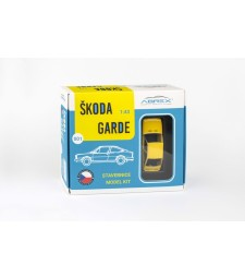 Skoda Garde (1982) - Solar Yellow - Model Kit
