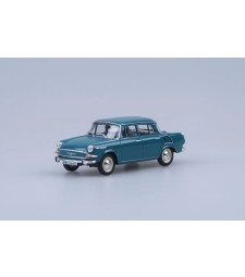 Skoda 1000MB (1964) - Blue - Green Dark
