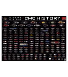 """CMC History Poster """"20 Years CMC"""""""