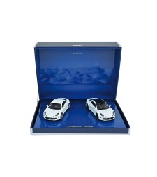Coffret Alpine A110 Pure & A110S - White - L.E 500 pcs (2 cars)