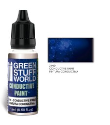 Conductive Acrylic Paint with Silver 15ml