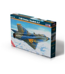1:72 J-35J Draken Swedish A.F