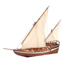 1:85 Sultan Arab Dhow - Wooden Model Ship Kit