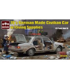 1:35 70's German Made Civilian Carw/Living Supplies