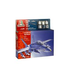 1:72 MODEL SET: F/A-18 C/D WILD WEASEL - MODEL SET