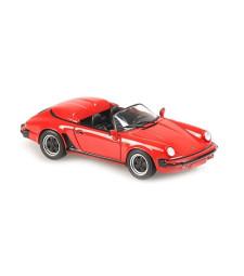PORSCHE 911 SPEEDSTER – 1988 – RED