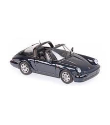 PORSCHE 911 TARGA (964) - 1991 - GREEN METALLIC - MAXICHAMPS