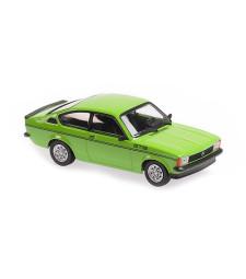OPEL KADETT C GT/E - 1978 - GREEN - MAXICHAMPS