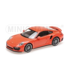 PORSCHE 911 (991.2) TURBO S – 2017 – ORANGE