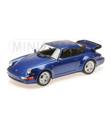 PORSCHE 911 TURBO (964) – 1990 – BLUE METALLIC