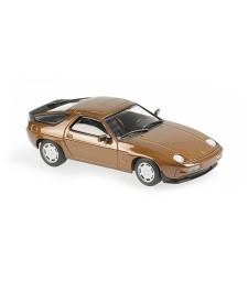 PORSCHE 928 S - 1979 - BROWN METALLIC - MAXICHAMPS