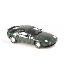 PORSCHE 928 S - 1979 - GREEN METALLIC - MAXICHAMPS