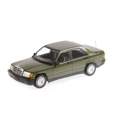 MERCEDES-BENZ 190E (W201) - 1982 - GREEN METALLIC